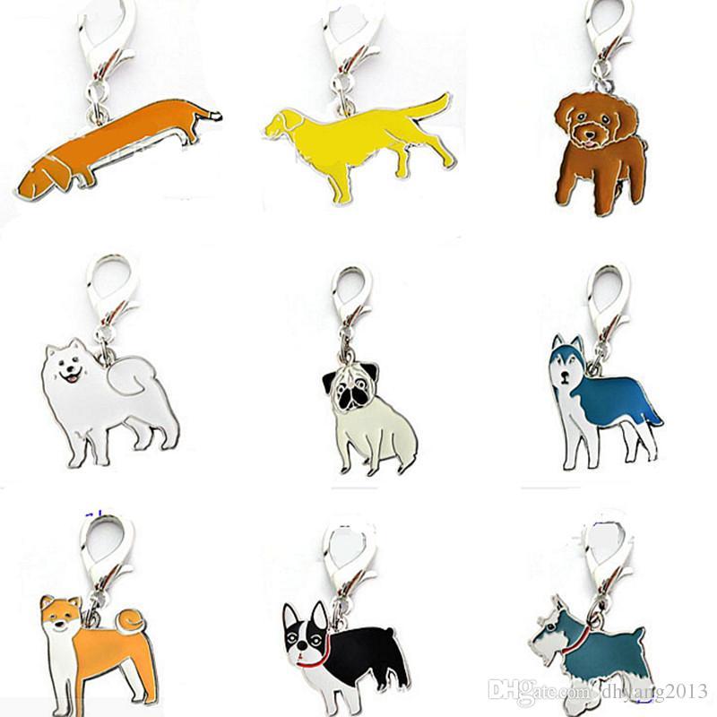Husky clipart dog collar tag. Cartoon pet cat id
