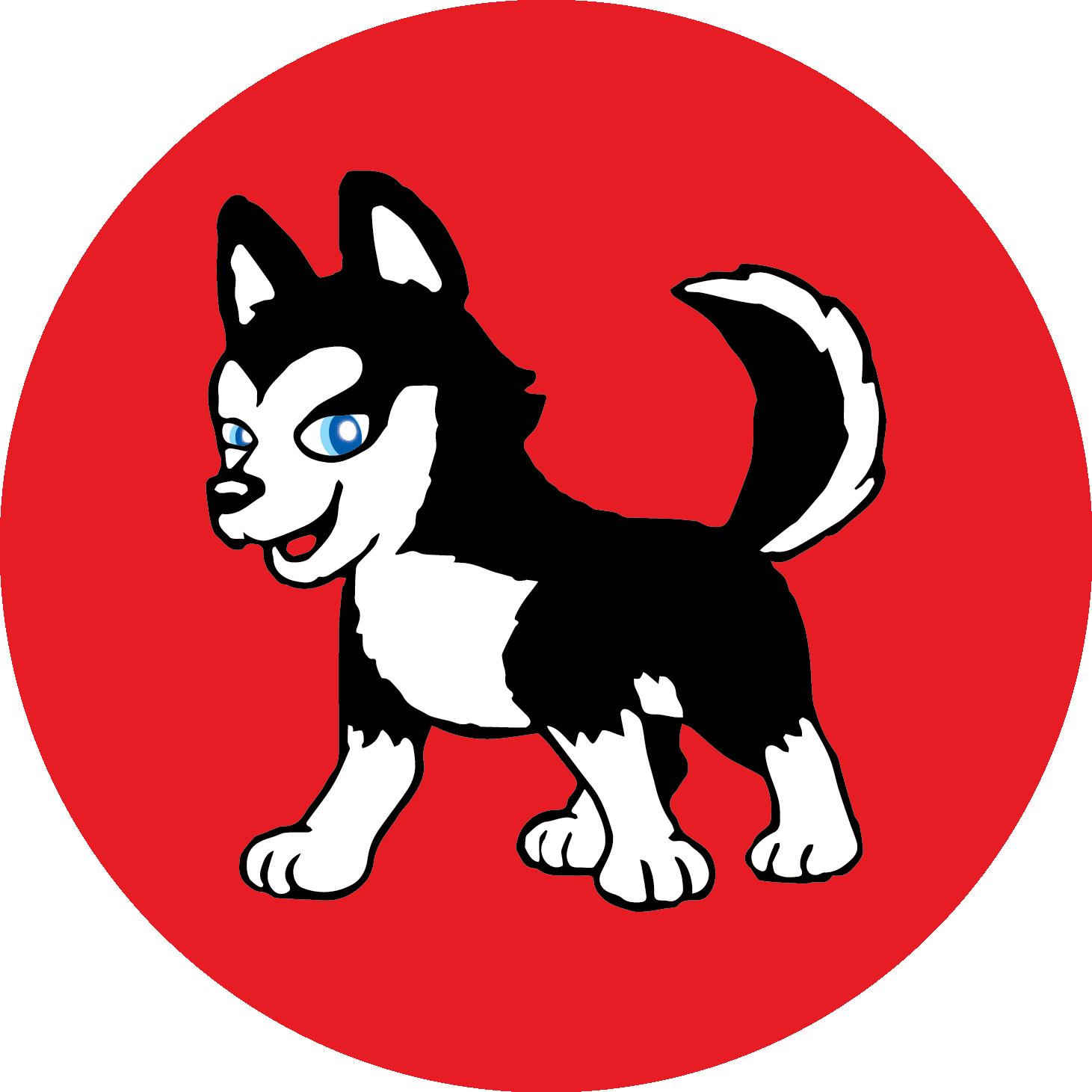 Hillcrest elementary on twitter. Husky clipart dog indian