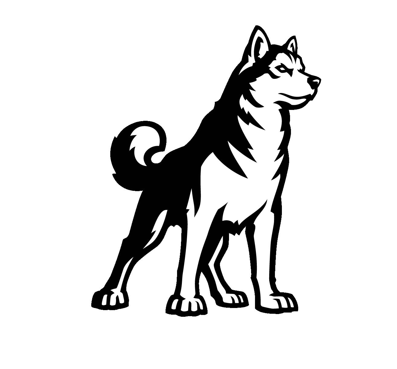 Husky clipart dog indian. Mammal vertebrate canidae carnivore