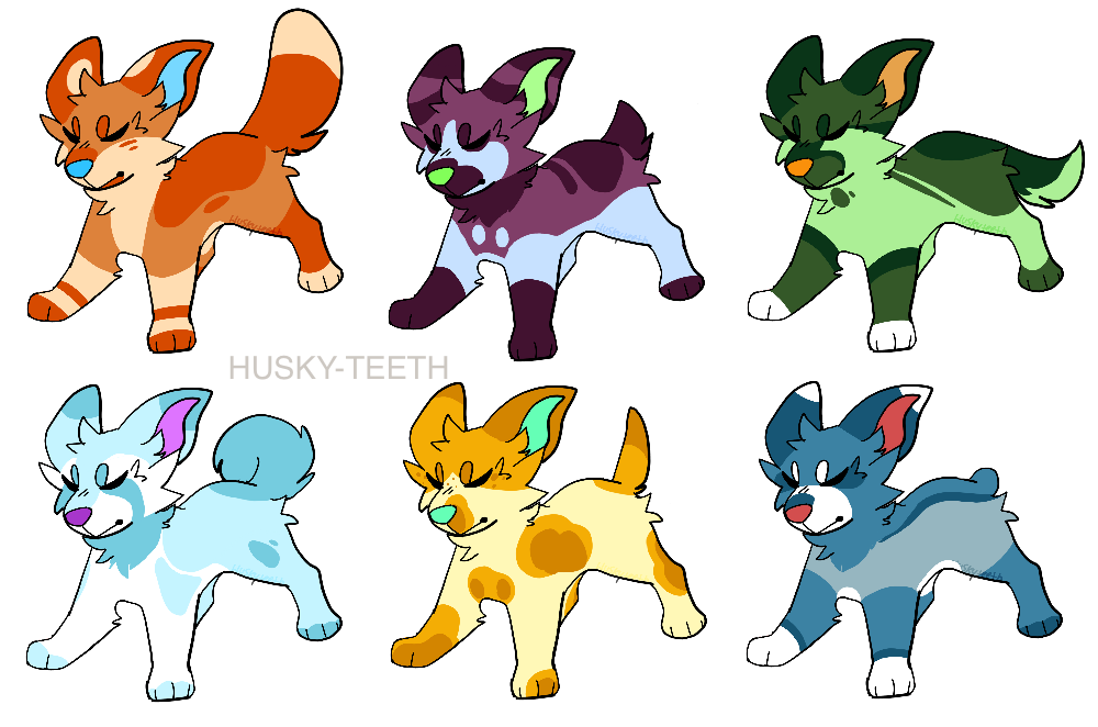 Dog adoptables closed by. Husky clipart dogr