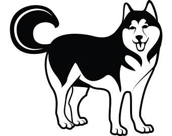 Huskies free download best. Husky clipart file