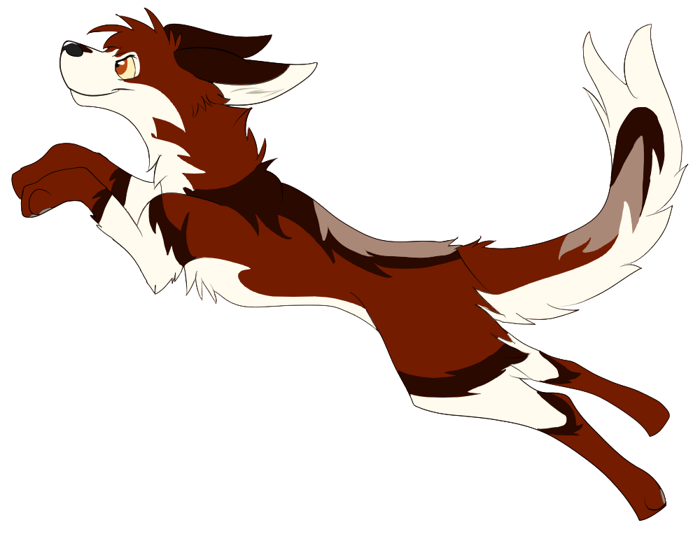 Husky clipart hemlock. Jump by luna stark