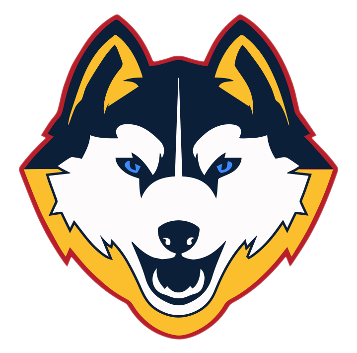 Northwest team home huskies. Husky clipart huskey