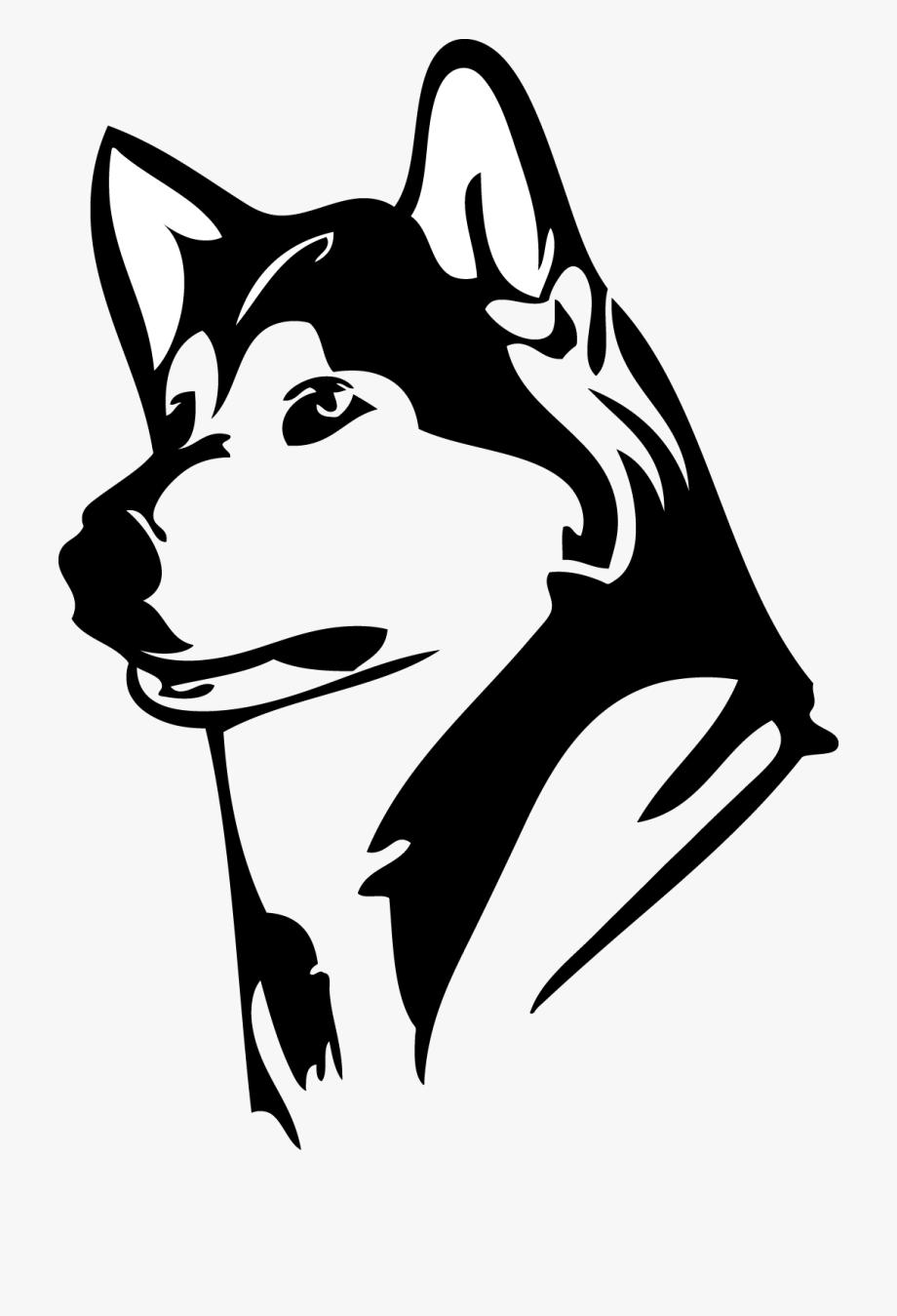Husky clipart huskie. University of washington huskies