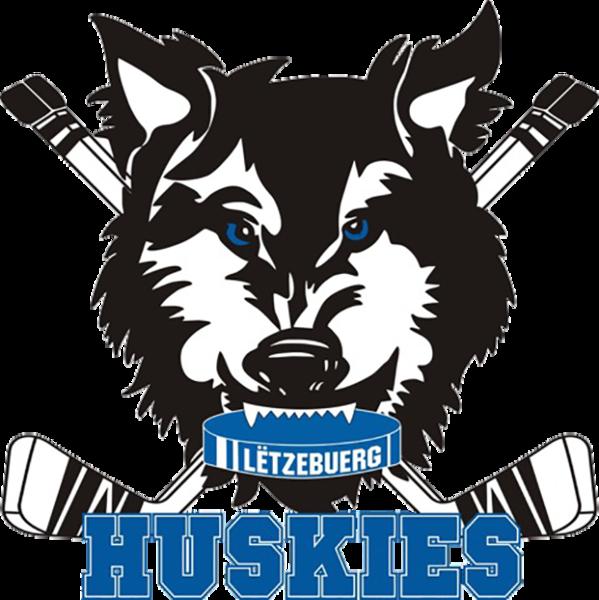 Husky clipart huskie. Huskies luxembourg junior ice