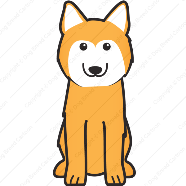 Husky clipart husky dog. Siberian cartoon
