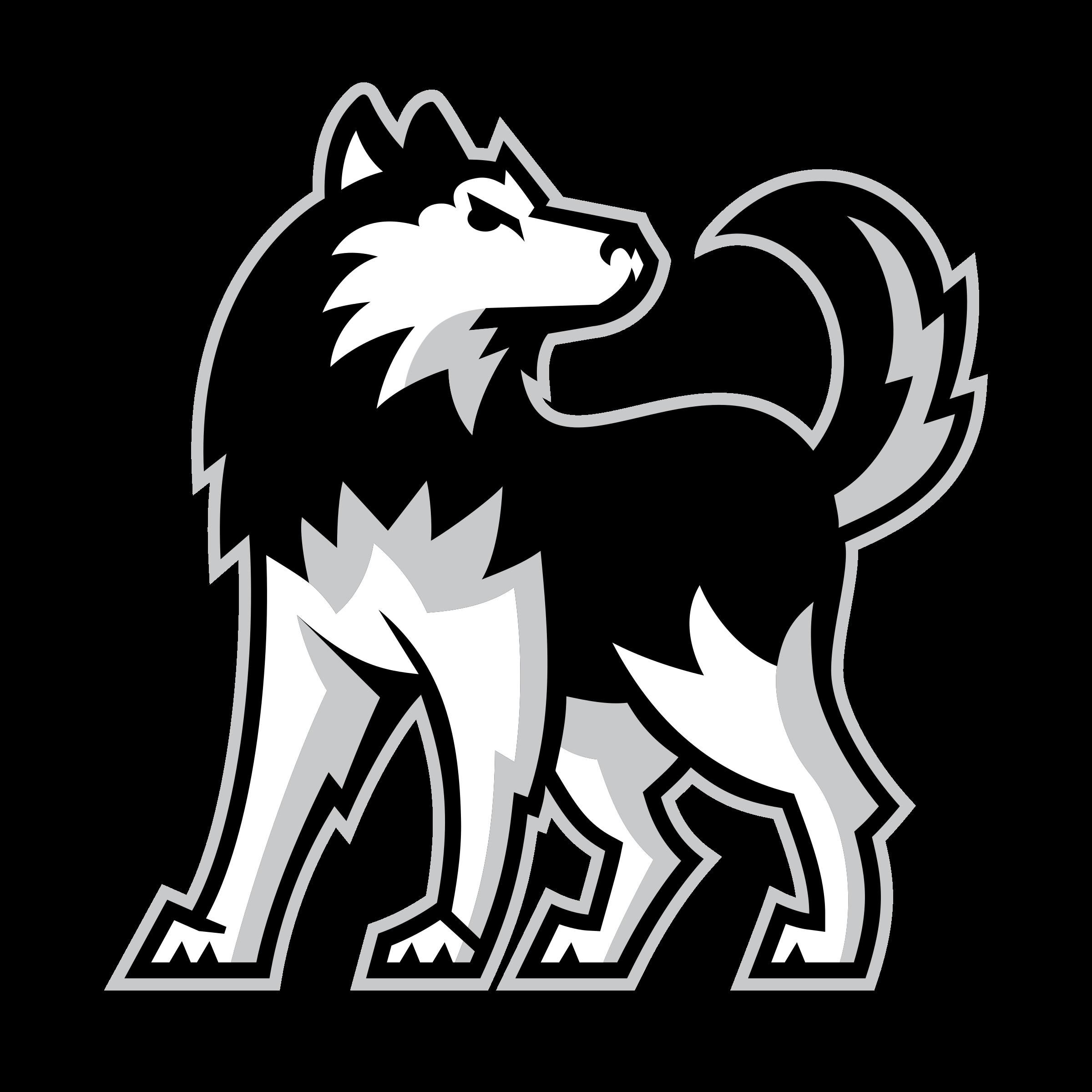 Husky clipart logo.  wolves huge freebie