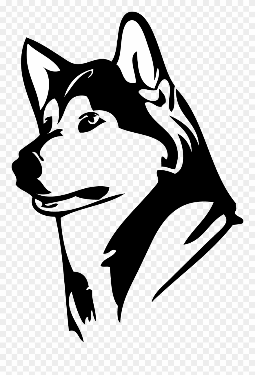 Husky clipart logo. Dh glass etching woodwind