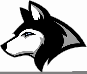 Husky clipart mascot. Free images at clker