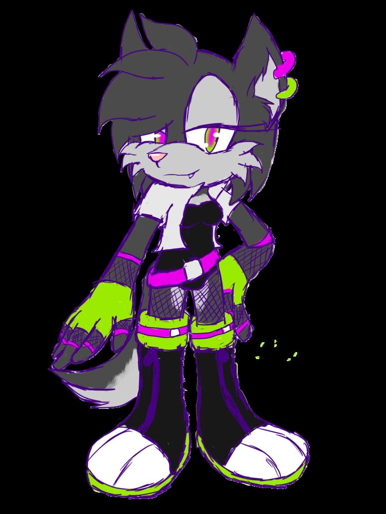 Sonic adoptable namless mobian. Husky clipart purple