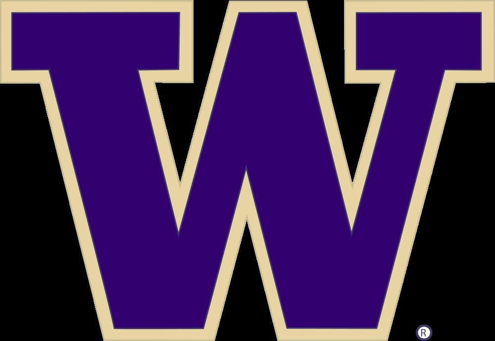 File university of washington. Husky clipart purple