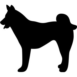 Design store sitka dog. Husky clipart silhouette