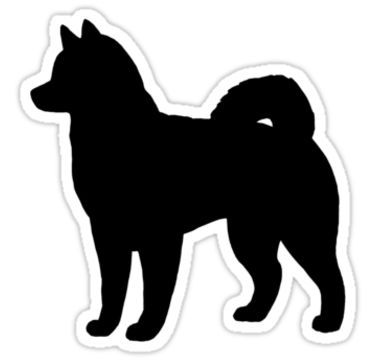Husky clipart silhouette. Image result for dogs