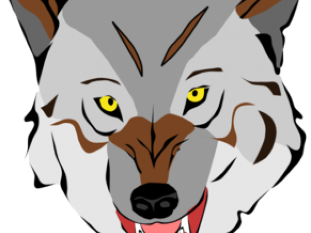 wolves cute huge. Husky clipart stylized