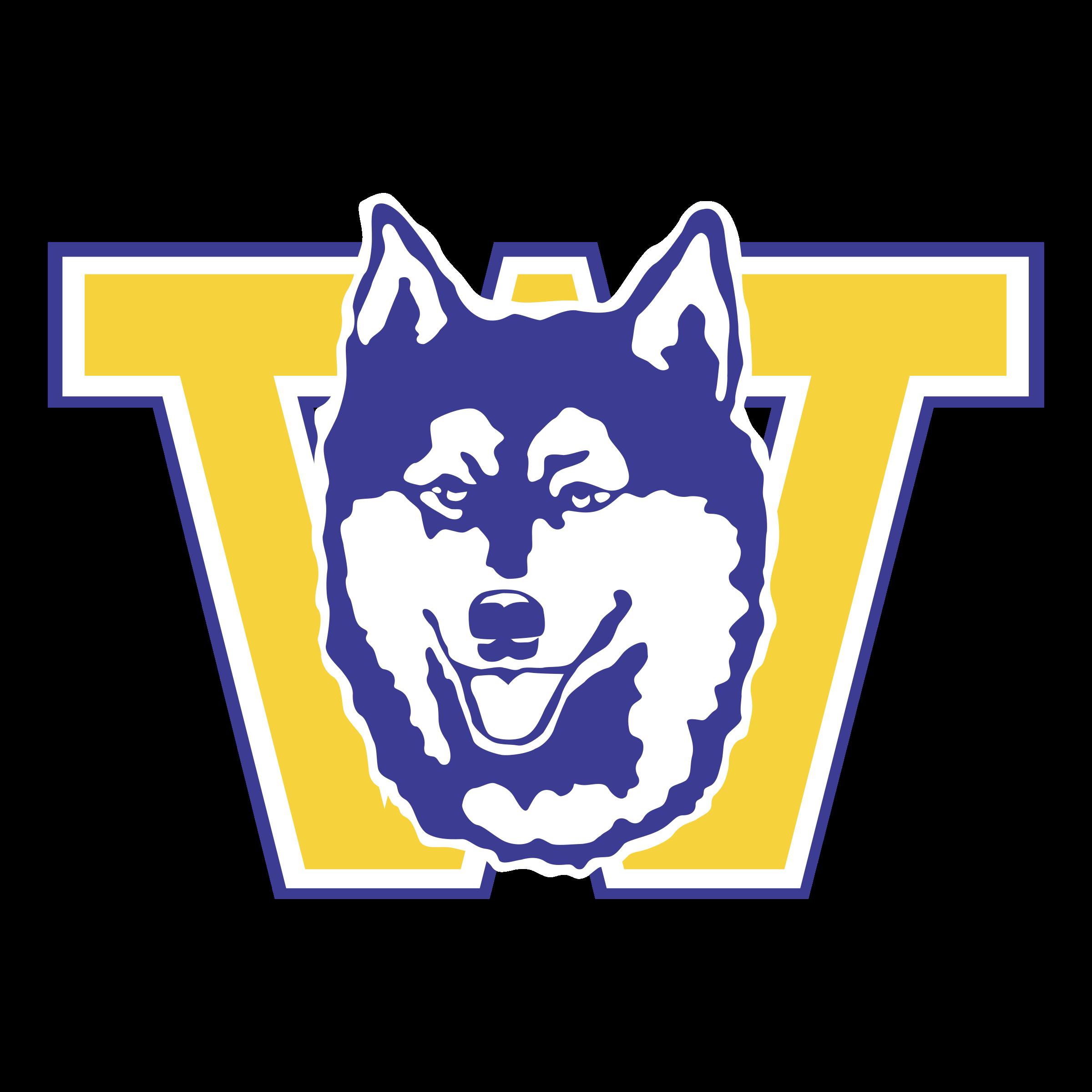 Husky clipart svg. Washington huskies logo png
