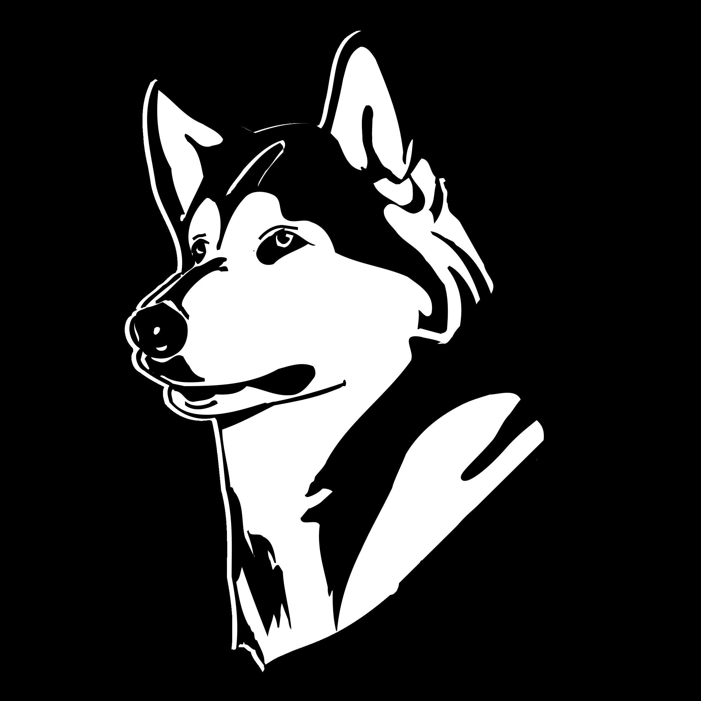 Washington huskies logo png. Husky clipart svg