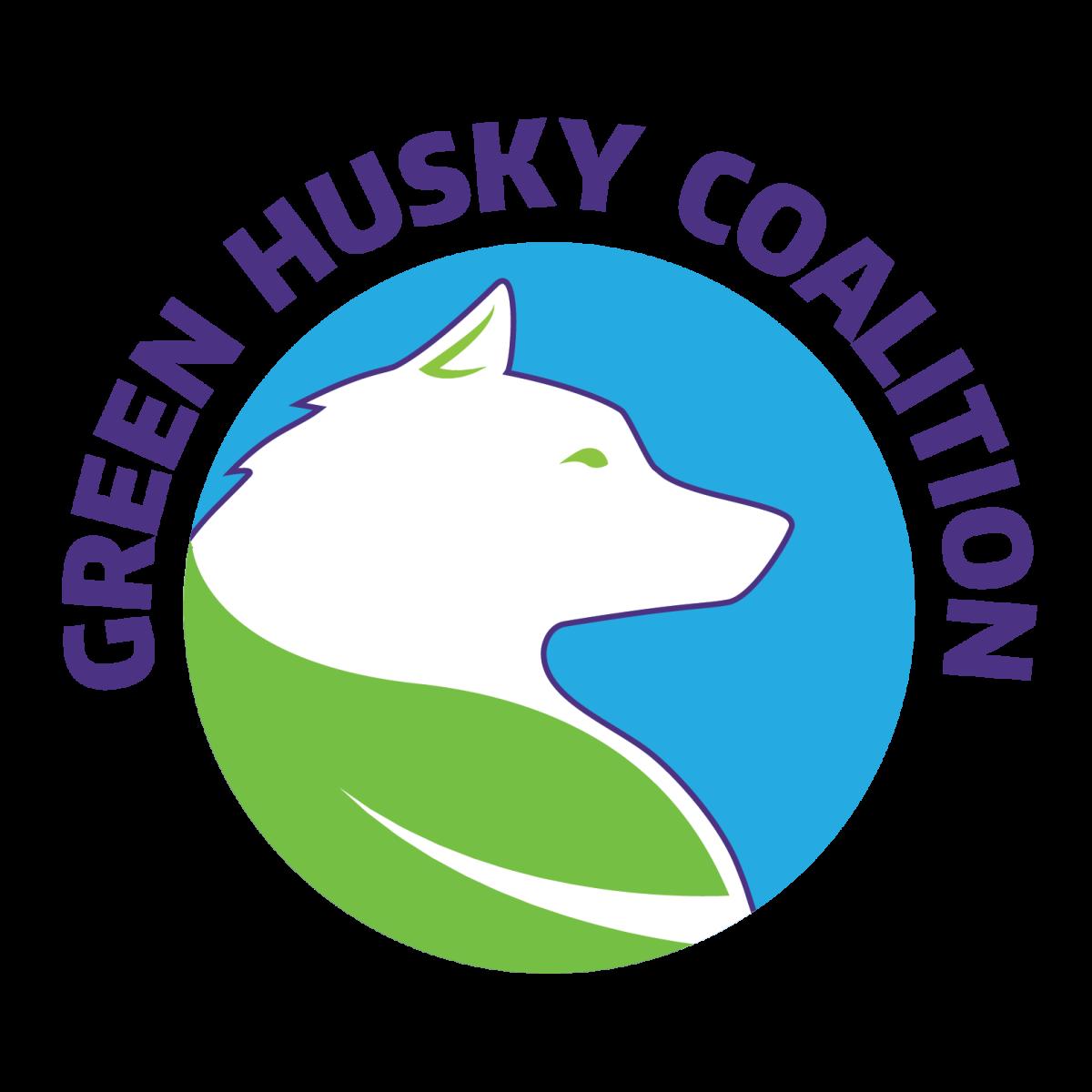 Husky clipart washington university. Green coalition uw sustainability