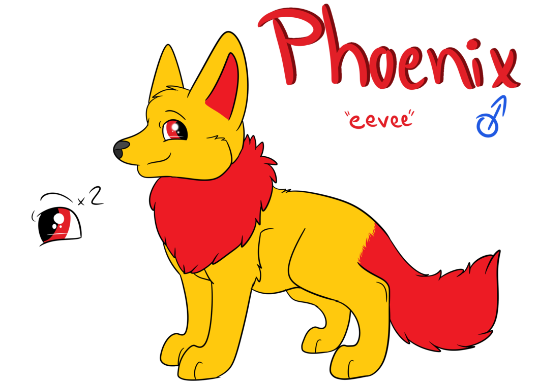 Husky clipart wolf. Commission phoenix ref by