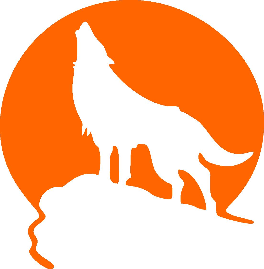 Wolves clipart grey fox. Are always bad en