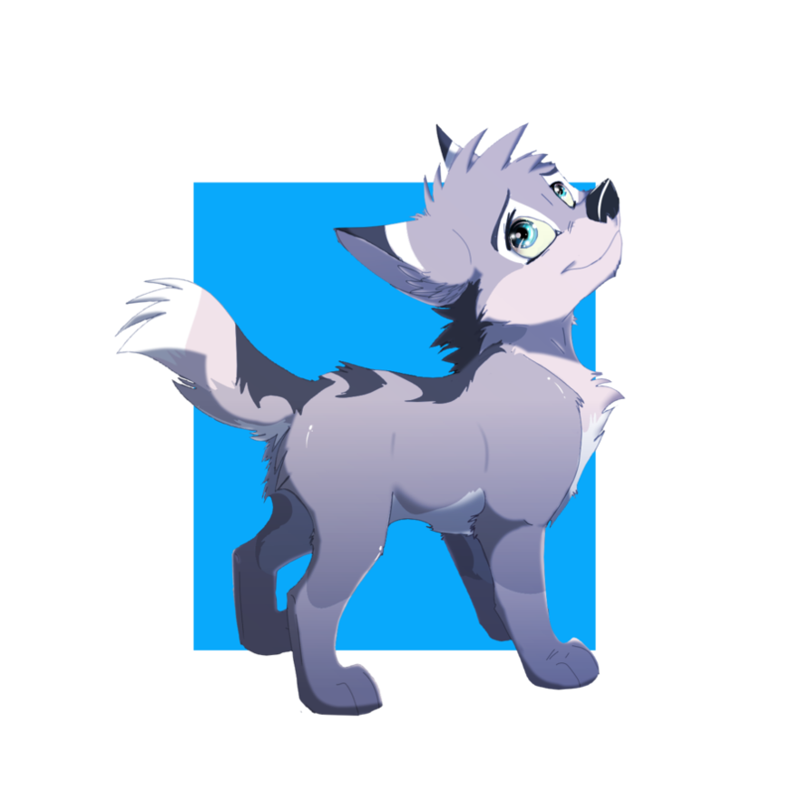 Husky clipart wolf pup. Chibi by streetfair on