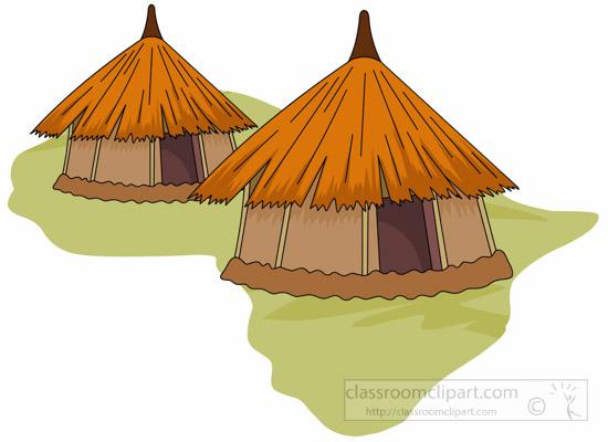 African clipart village. Africa hut classroom africanhutafricaclipartjpg