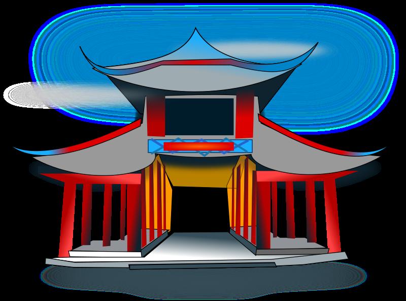 Architecure medium image png. Hut clipart chinese hut