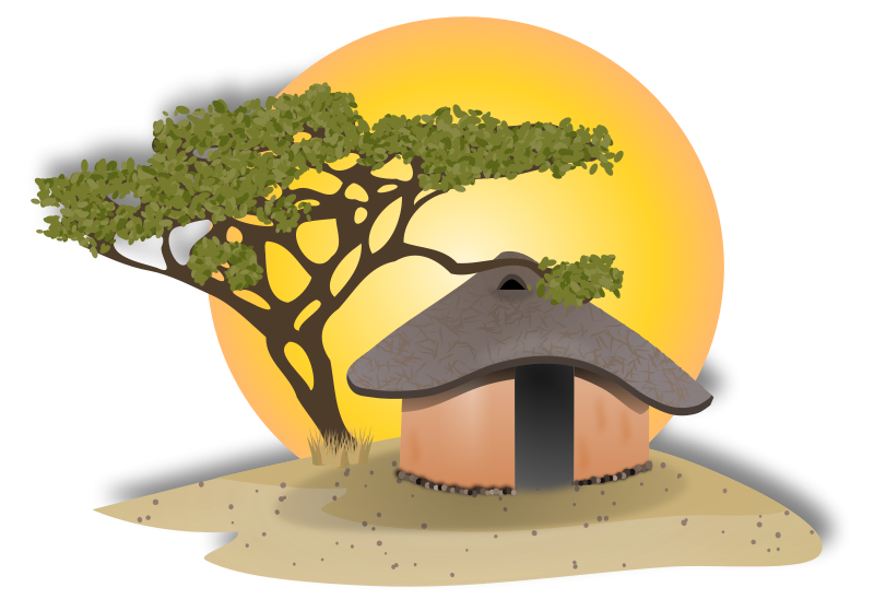 huge freebie download. Hut clipart colonial house