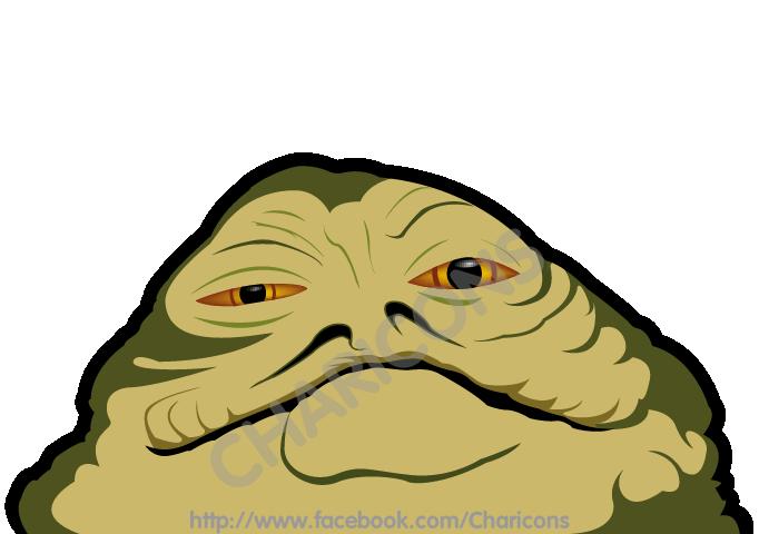 Star wars jabba the. Hut clipart hutt