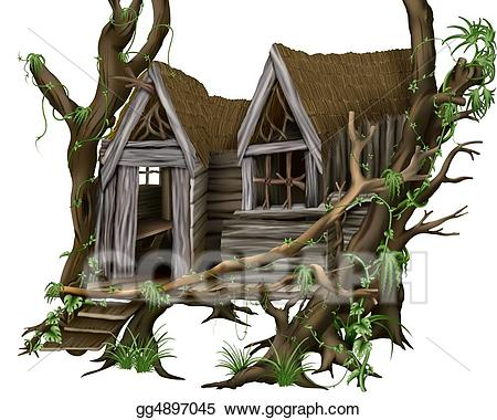 Hut clipart jungle house. Drawing gg gograph
