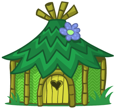 Collection of free download. Hut clipart jungle house