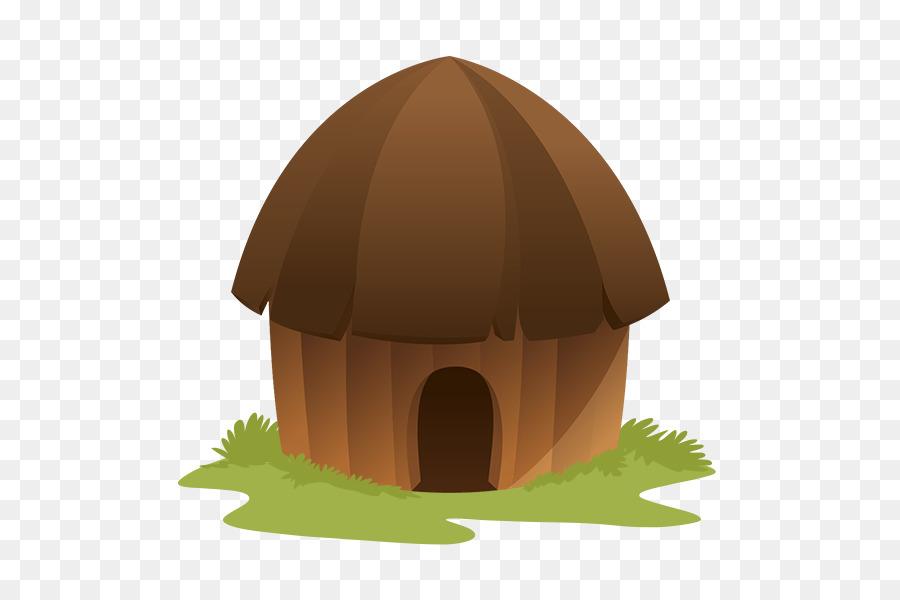 Hut clipart mud hut. House cartoon png download