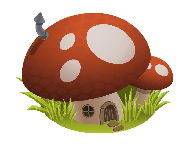 Den icons animal jam. Mushroom clipart hut