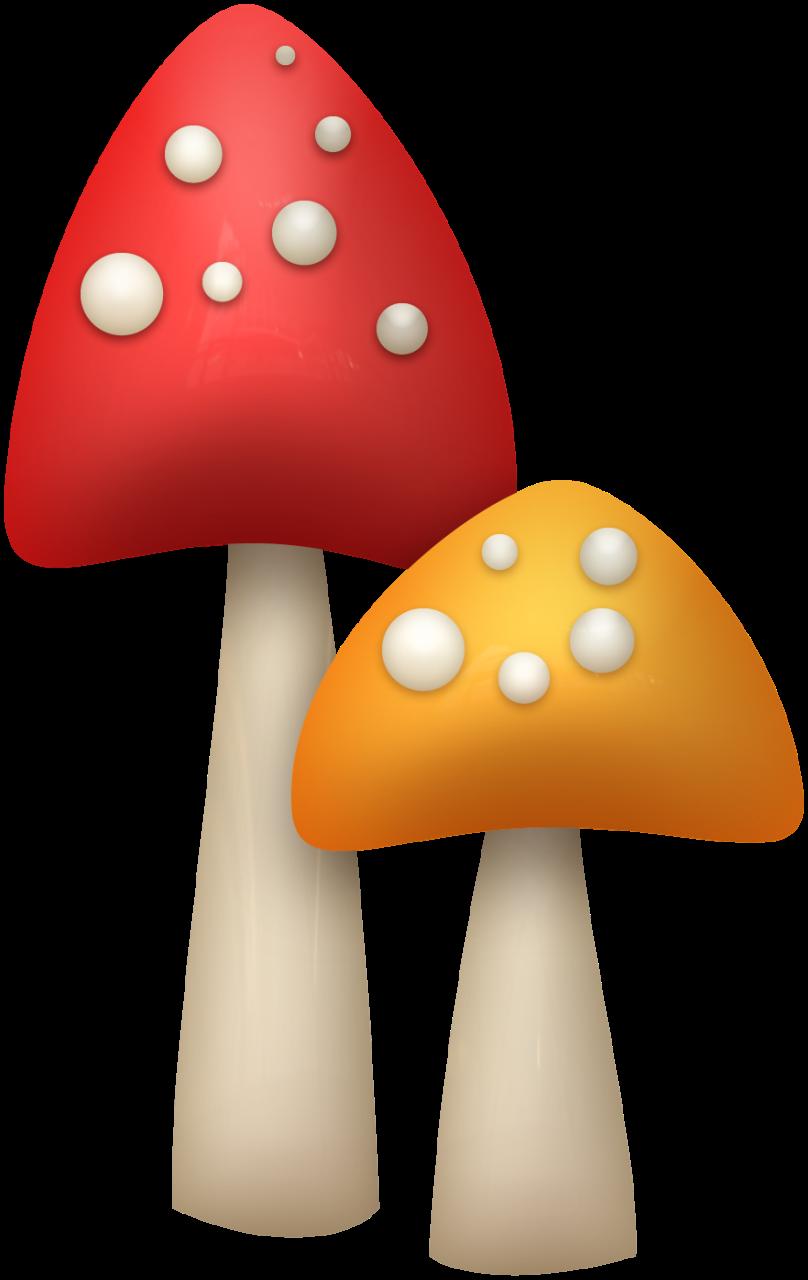 Mushroom clipart hut. Mushrooms png tree planting