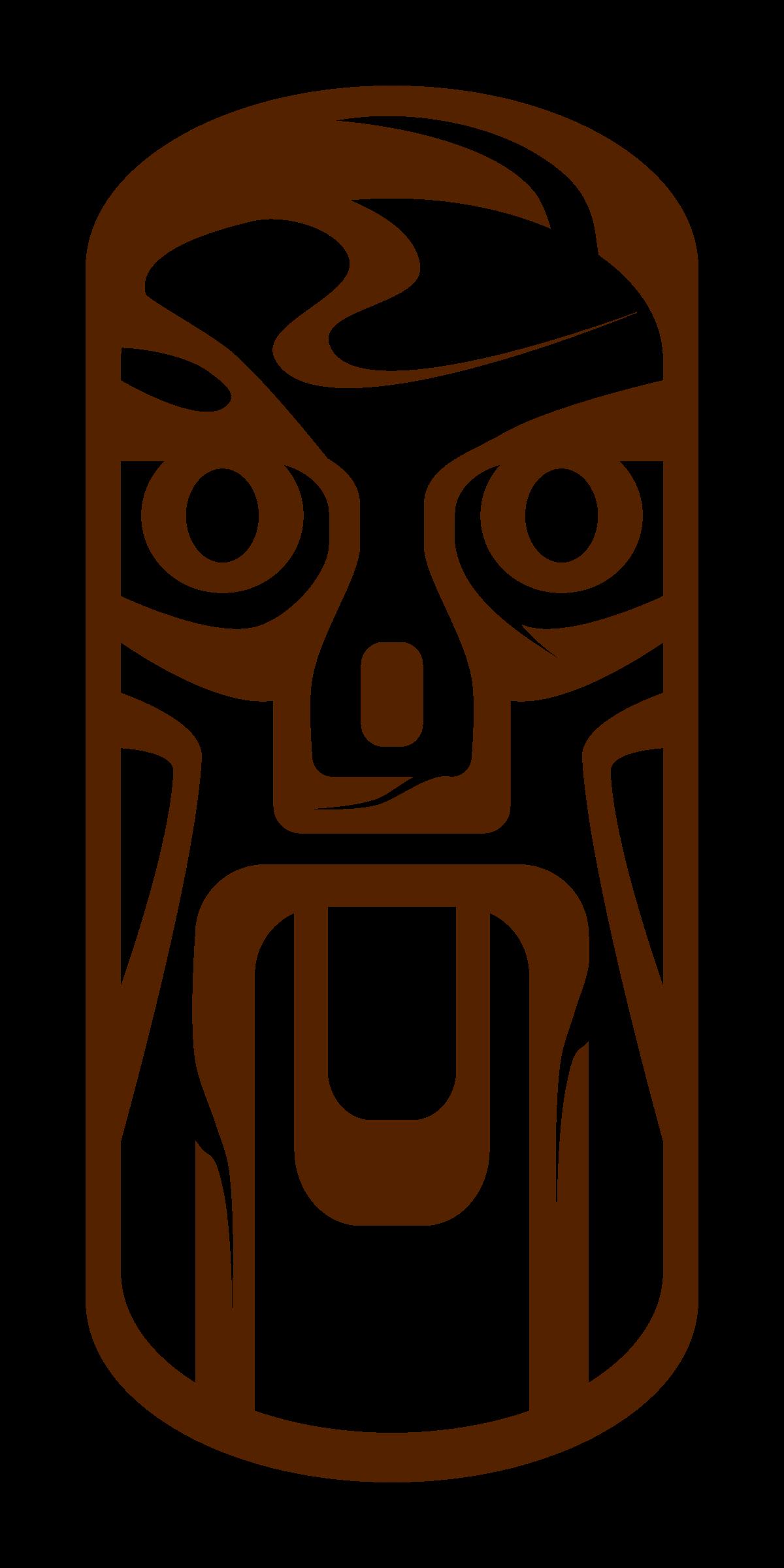 Torch clipart tiki hawaii. Hut at getdrawings com