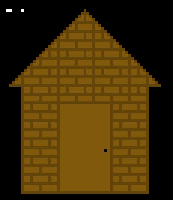Gallery . Cabin clipart pixel art