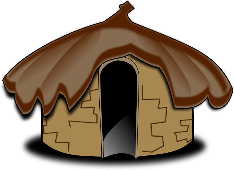 Hut clipart stone houses. Goring church of england
