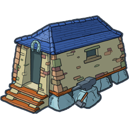 House icon png image. Hut clipart stone houses