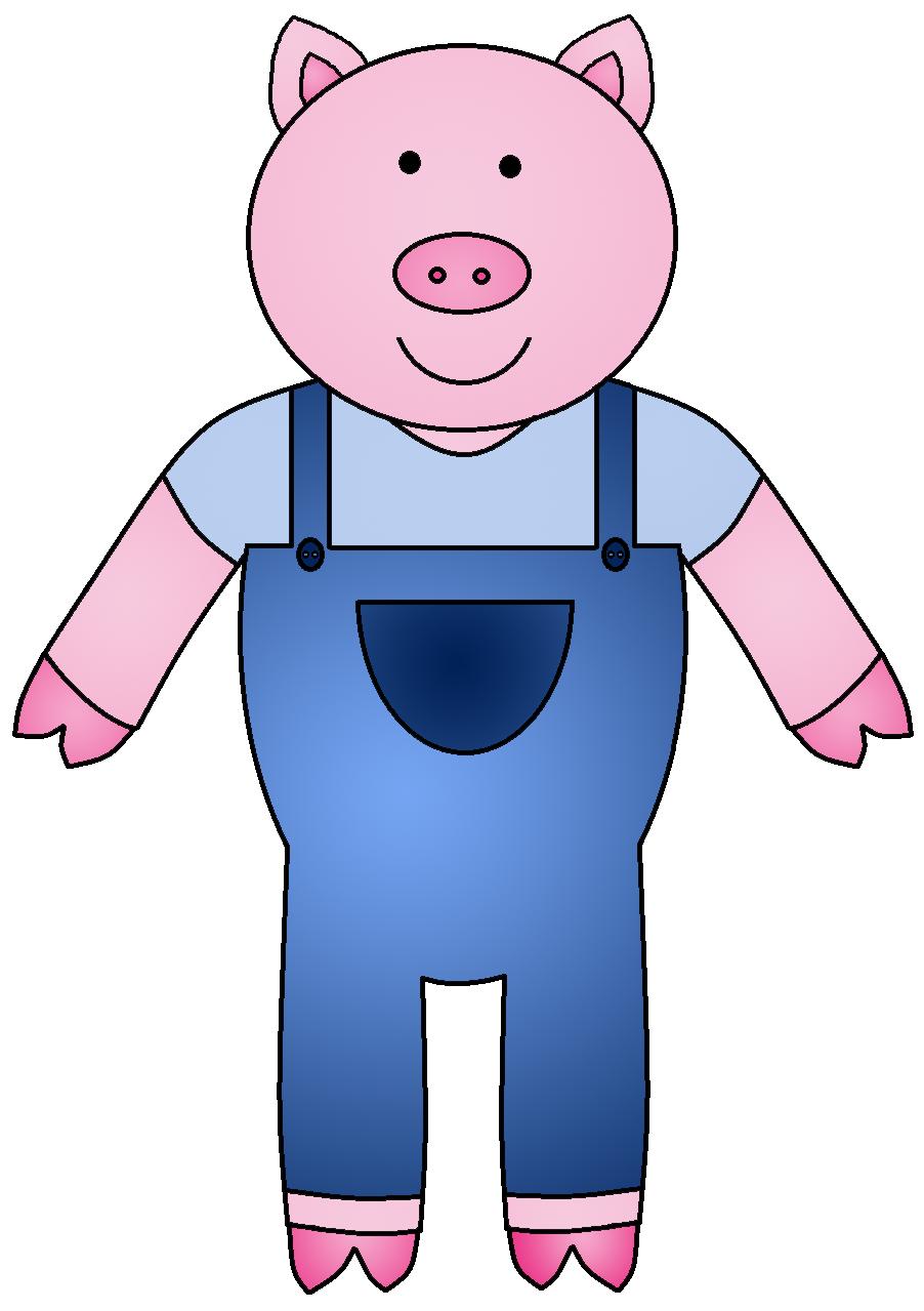 Hog clipart little piggy. Three pigs blueridge wallpapers