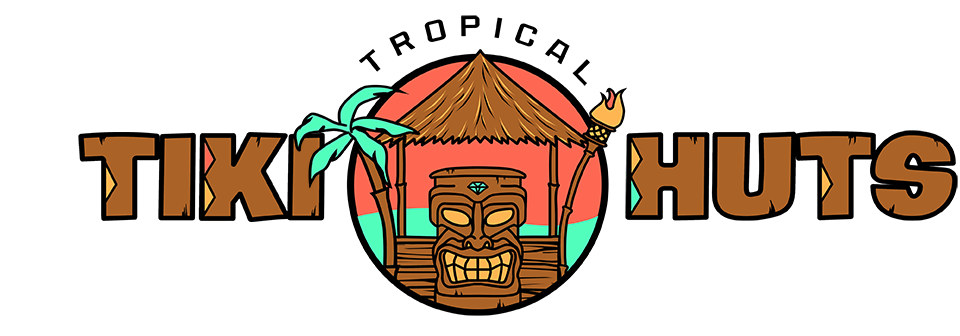 Hut clipart tiki hut. Tropical huts another day
