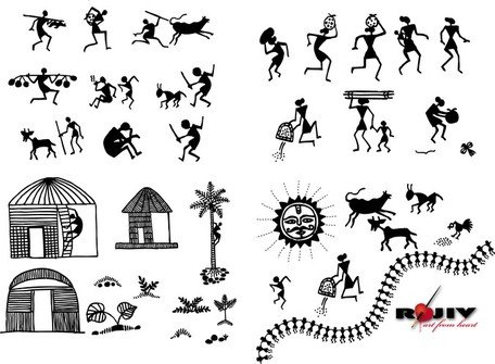 Free indian arts and. India clipart village