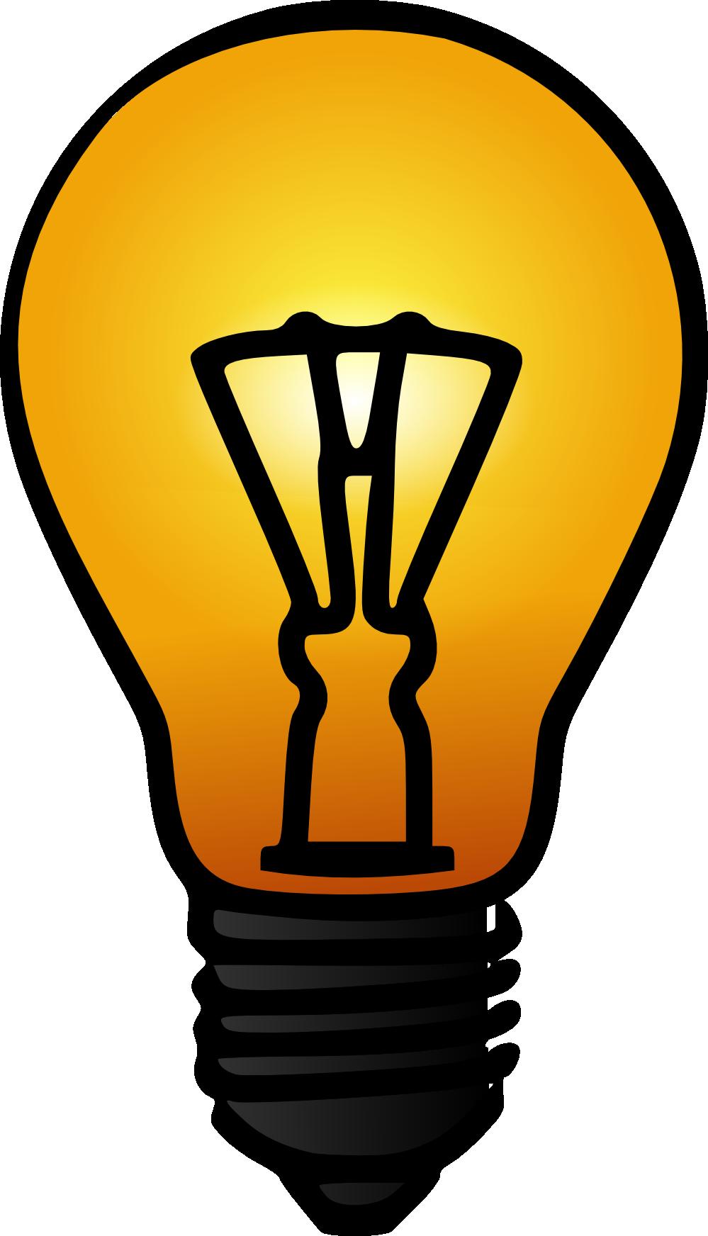 Hypothesis clipart. Bulb