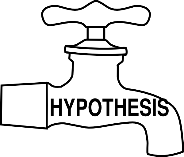 Hypothesis clipart. Tap clip art at