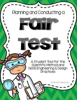 Tests an ngss tool. Test clipart fair test