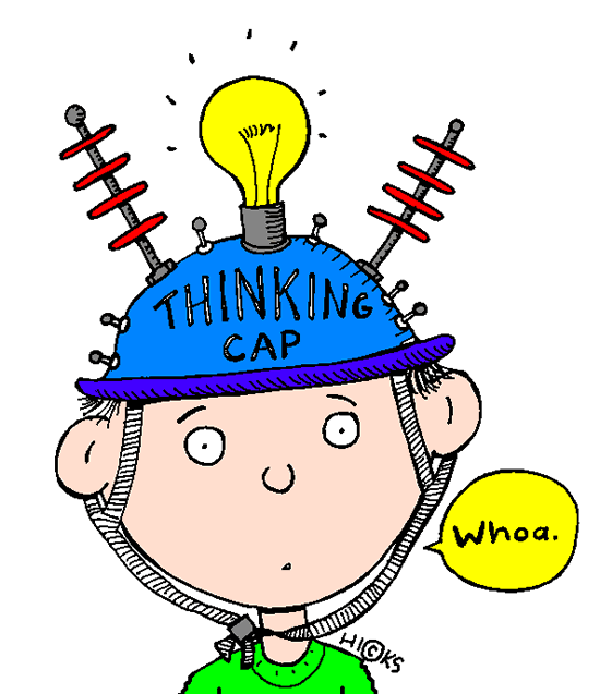 Cap panda free images. Hypothesis clipart thinking hat