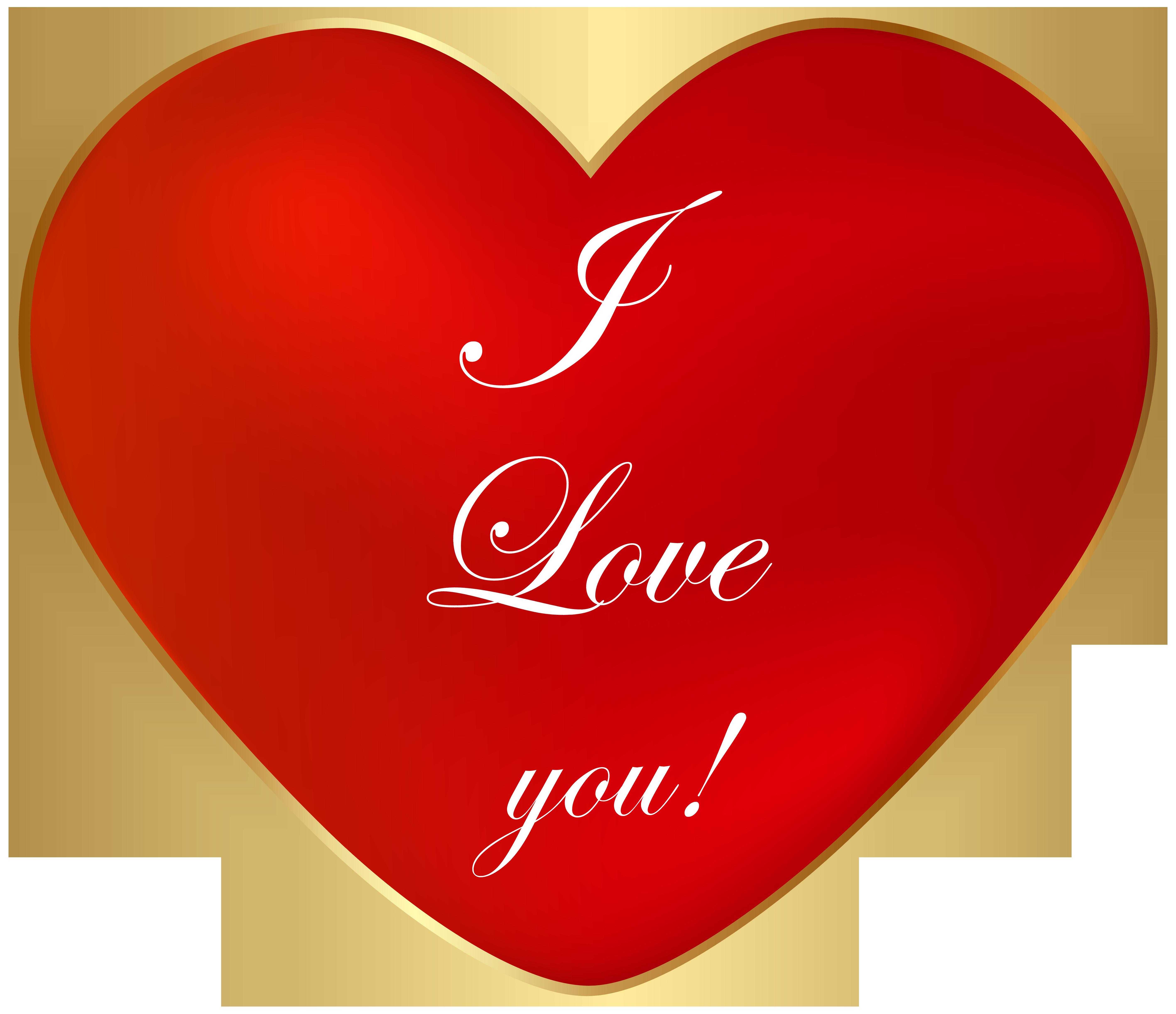 I love you clip. Rock clipart heart
