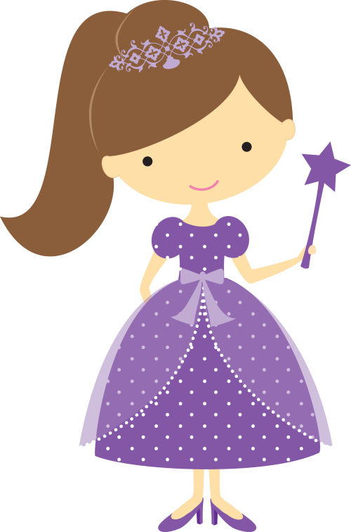 collection of pretty. I clipart princess