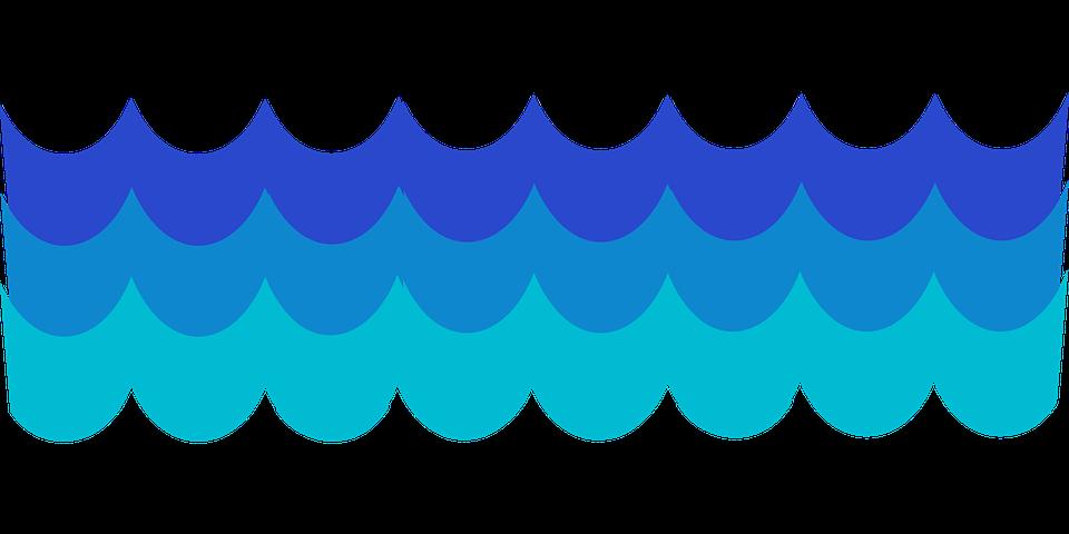 Clipart water blue. Ocean free download best