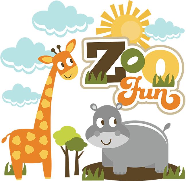 collection of cute. Picture clipart zoo