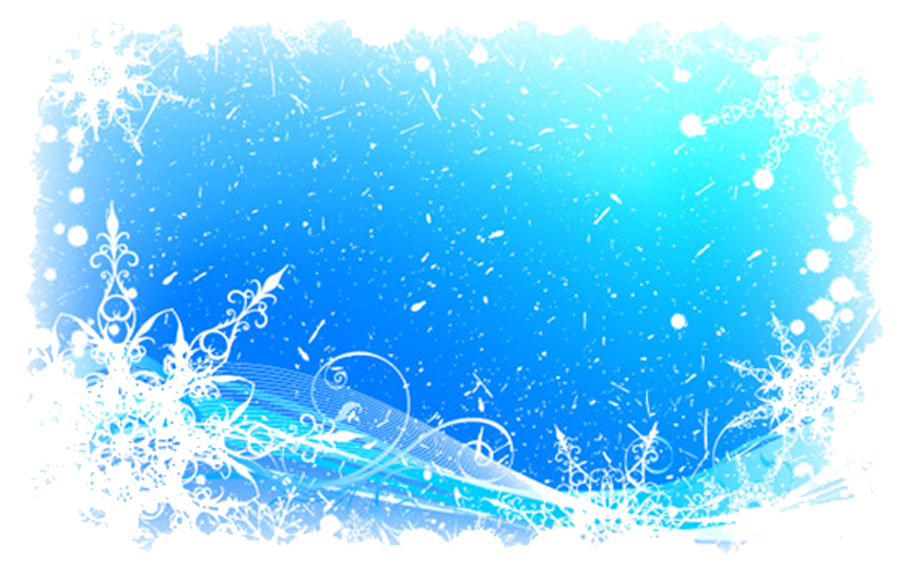 Ice border png. Snowflake pattern and snow