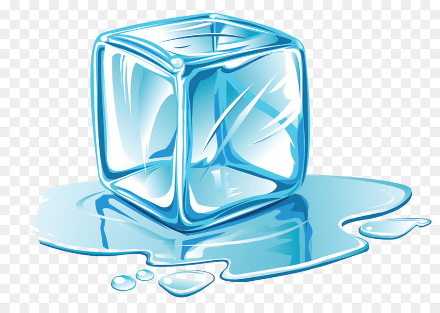 Cube melting clip art. Ice clipart